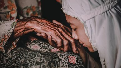 Minta Doa Kepada Ibu