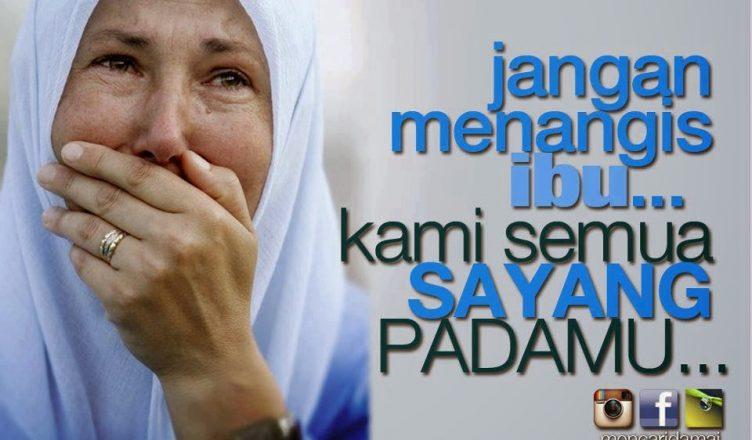 Jaga ibu saya Tuhan