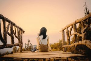 Lintang Mangunan, Bukit Cantik Spot Selfie Dengan Balutan Sunsed Menawan