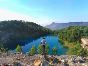 Danau Biru Sawahlunto, Danau Ciamik Di Bumi Andalas yang Memukau