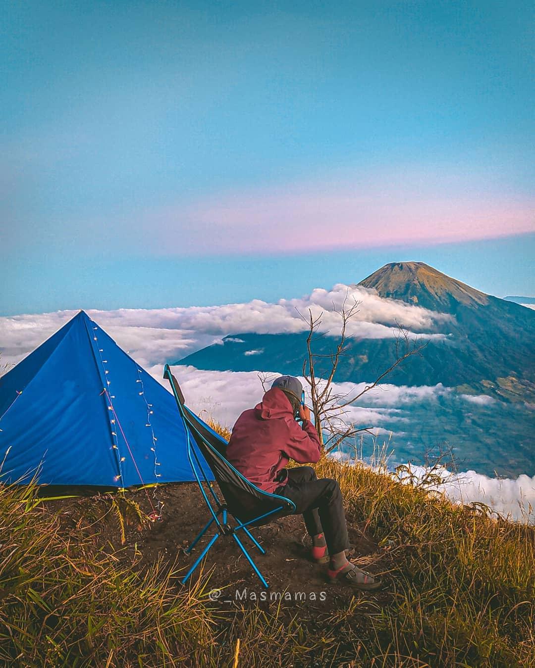 Kisah mistis pendakian gunung sumbing