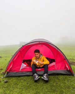 Asyiknya Camping di Padang Rumput Lappa Laona Barru