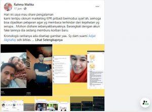 Viral, KPR Pribadi Berkedok Syariah Menipu Kami Mentah-Mentah