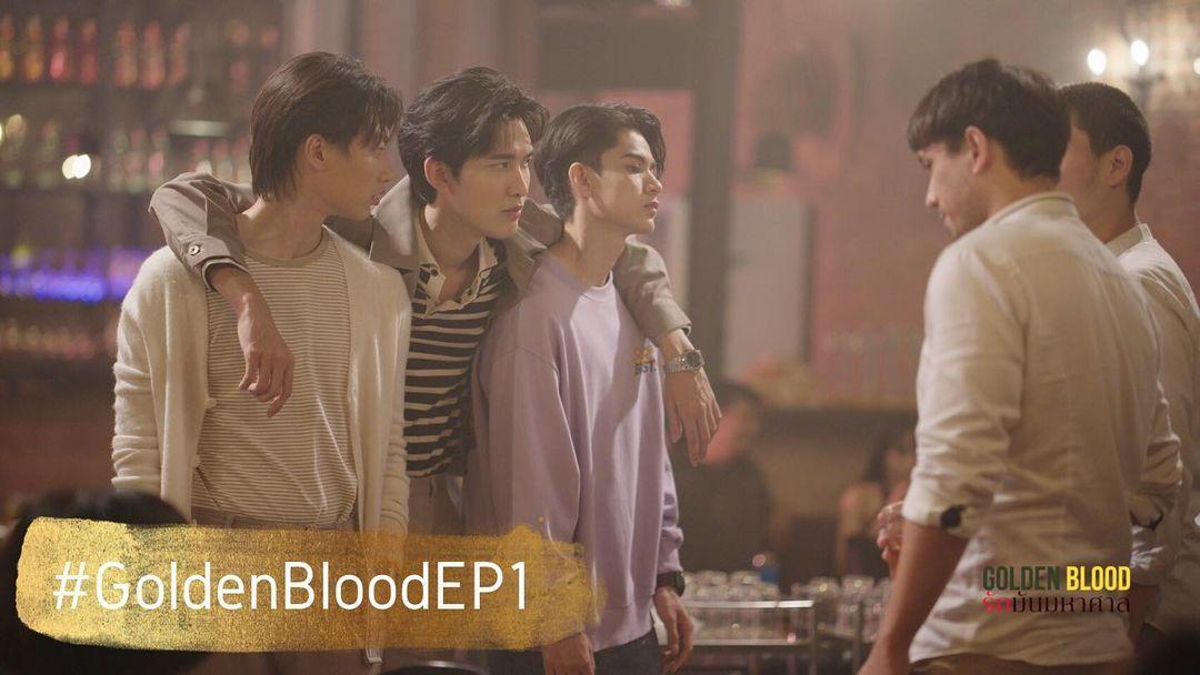 Pemeran Utama Golden Blood Series