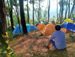 Pasir Buntung Camping Ground, Bonus Hutan Pinus dan Curug