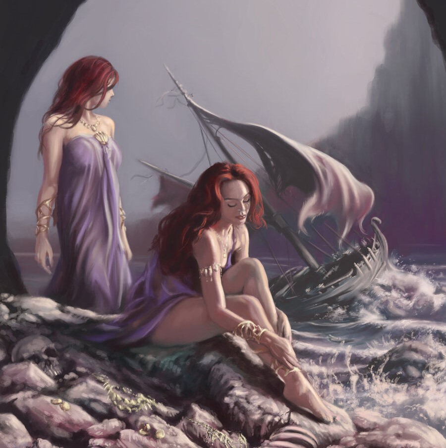 Siren Makhluk Mitologi Yunani